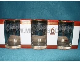 Набор 6 стаканов низ 255мл Истамбул 42405/Кружева