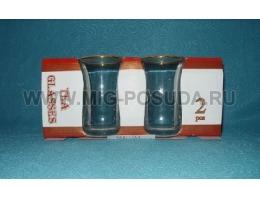 Армуды 6шт стакан для чая с ручкой 145сс 55411/А1