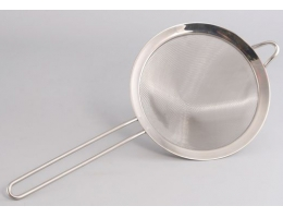 Сито 10 см железная для пенки
