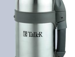 2408 TalleR Термос (сер.металлик) 0,8л